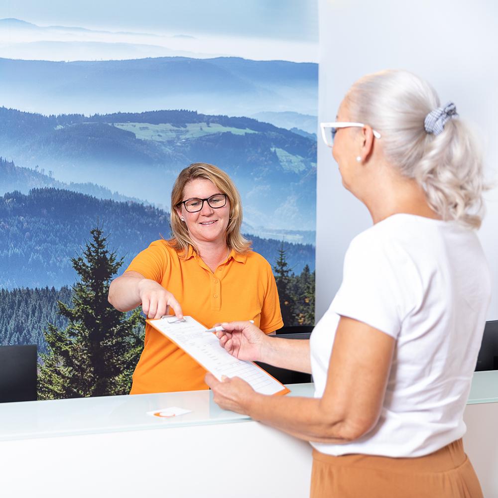 Wartebereich - Strahlentherapie Horb am Neckar