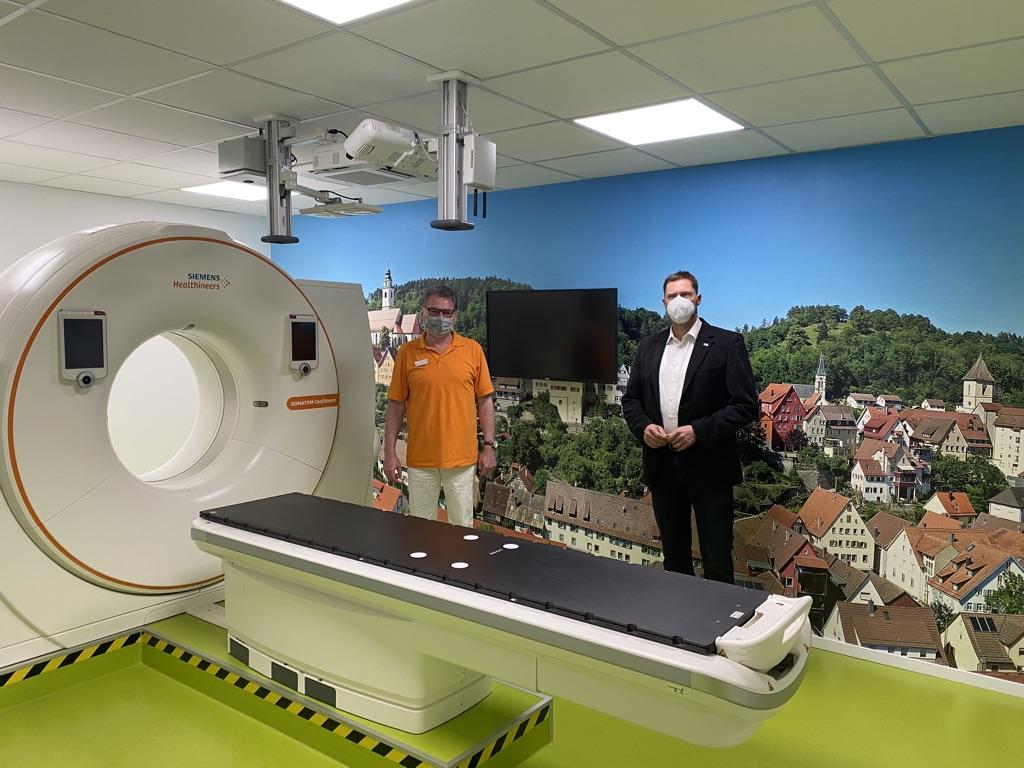 20-Zeilen CT mit großer Gantry - Strahlentherapie Horb am Neckar